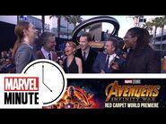 The Return of Marvel Minute -- Marvel Studios' Avengers- Infinity War Red Carpet World Premiere