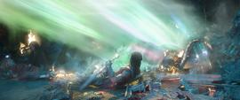 Heimdall envía a Hulk a la Tierra