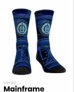 SWORD Mainframe socks on WandaVision Merchandise