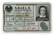 """Peggy Carter"" ID"
