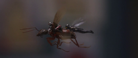 Ant Man y Wasp dentro de una escuela primaria - AAW