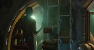 Nebula a un lado del Benatar