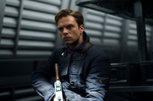Bucky dentro del tren de HYDRA