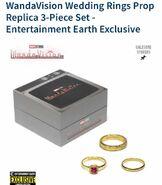 WandaVision Wedding Rings Merchandise