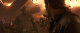 Drax desaparece en Titán