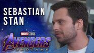 Sebastian Stan talks the end of the line LIVE at the Avengers Endgame Premiere