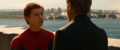 Peter discute con Stark