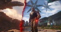 Thanos muestra el pasado de Titán