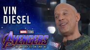 "Vin Diesel feels his ""Groot-ness"" LIVE at the Avengers Endgame Premiere"