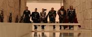 Loki, Sif, Warriors Three & Thor