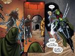 GOTGP - Gamora se encuentra con el holograma de Tivan