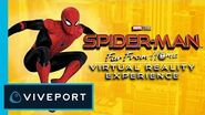 Spider-Man Far From Home VR Sony Pictures Virtual Reality Viveport