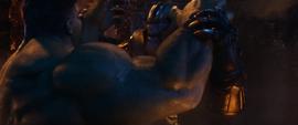 Thanos contraataca a Hulk