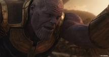 Thanos habla con Stark