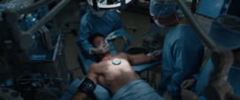 Stark en una cirugia