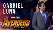 Gabriel Luna Live from the Avengers Infinity War Premiere