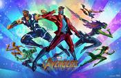 Avengers Infinity War - Mini Póster 5