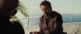 Stark habla con Fury sobre Howard