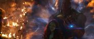 Thanos secuestra a Gamora