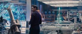 Tony experimento Ultron