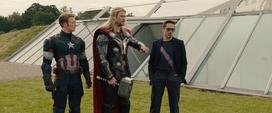 Thor apunto de volver a Asgard