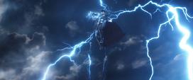Thor se lanza con el Rompetormentas