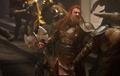 Volstagg en el Saqueo de Asgard