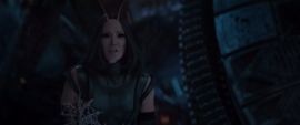 Mantis ve a Quill y Parker