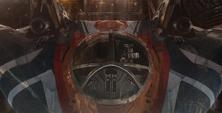 Rocket aborda su nave para dirigir a los Devastadores