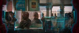 Schultz y Toomes en el ferry de Staten Island