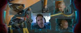 Stark interrumpe a Parker en su misión