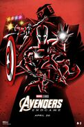 Avengers Endgame Poster Posse