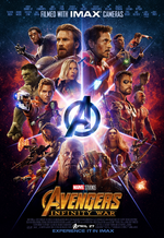 Avengers Infinity War - Póster IMAX