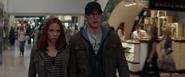 Steve y Natasha disfrazados