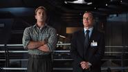 Coulson cerca de Capitan America