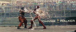 Iron Man V lucha contra Vanko