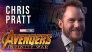 Chris Pratt Live at the Avengers Infinity War Premiere