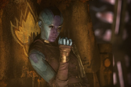 Nebula viendo a Taserface eliminar a algunos Devastadores