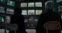 Pym y Hope monitorean la misión de Lang