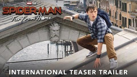 SPIDER-MAN FAR FROM HOME – International Teaser Trailer