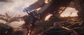Stark se lanza contra Thanos