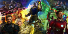 Avengers Infinity War - Póster Completo SDCC