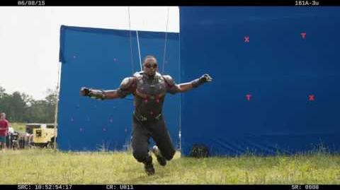 Gag Reel from Marvel's Captain America Civil War