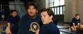 Peter y Ned en clases de gimnasia