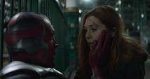 Wanda y Visión preocupados