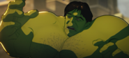 Bruce Banner's Heart is destroyed by Hank Pym