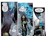GoTGP - Gamora le deja una navaja a Nebula