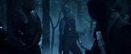 Nebula tras dispararle a Yondu y Rocket