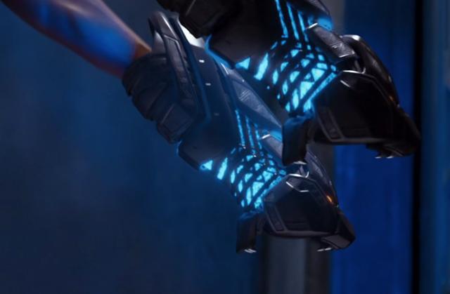 Вибраниумые перчатки
