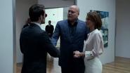 Wilson Fisk y Vanessa conocen a Murdock